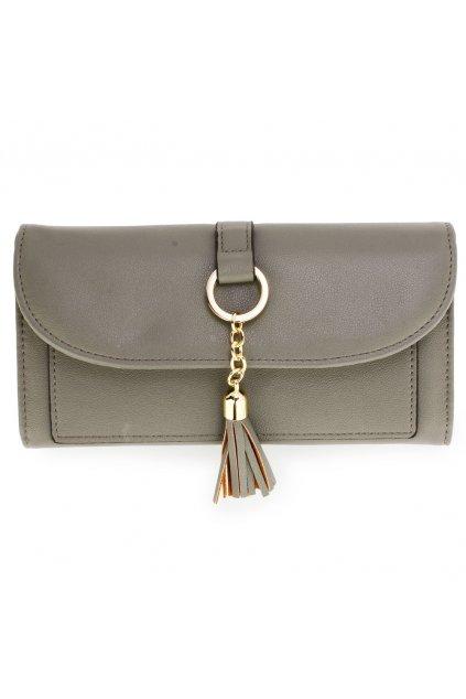 Sivá peňaženka Flap AGP1091