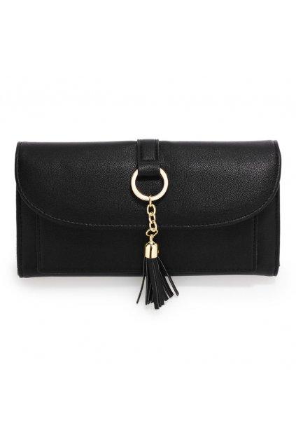 Čierna peňaženka Flap AGP1091