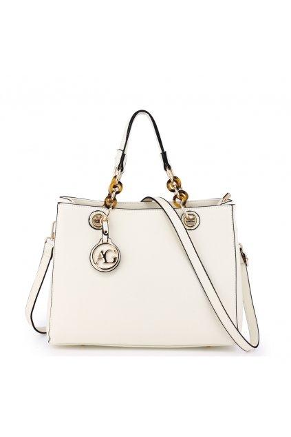 Biela kabelka do ruky Zoe AG00536A