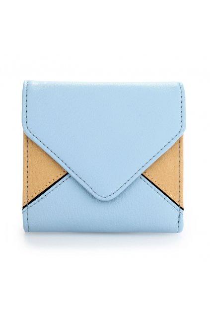 Peňaženka modro béžová Luca AGP1087