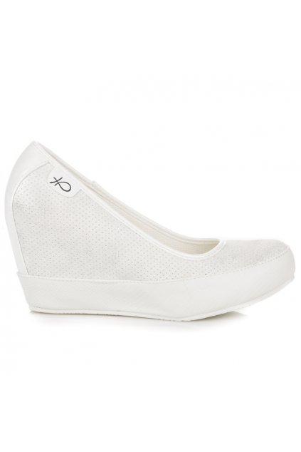 7e038da90a85 Elegantné sivé lodičky na opätku Ideal Shoes