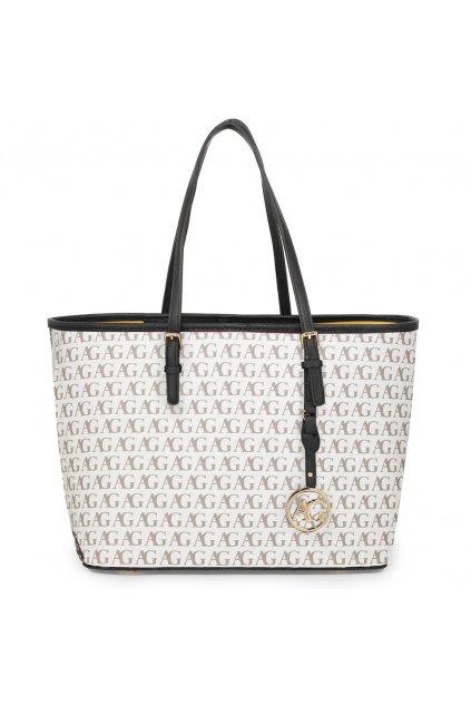 Biela kabelka na rameno Alison AG00297P