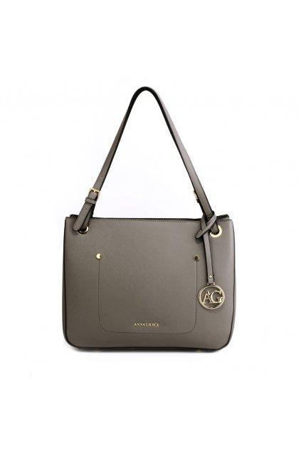 Sivá kabelka na rameno Alvena AG00570