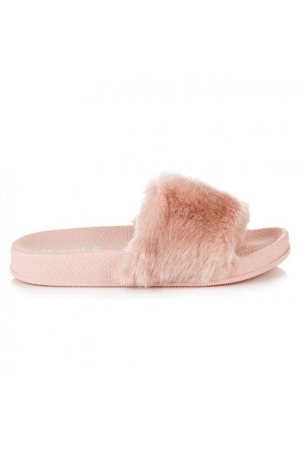 Dámske papuče béžové Vika