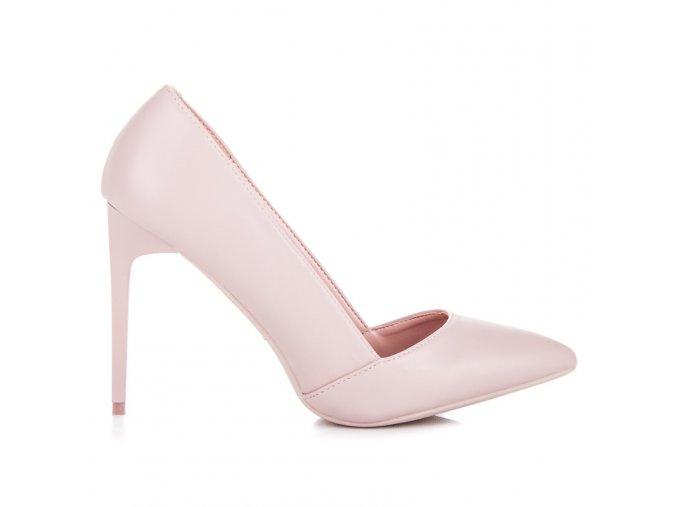 Elegantné ružové lodičky Vices