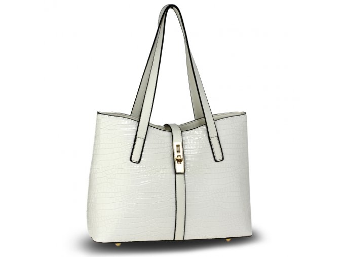 Biela kabelka do ruky Siena AG00710