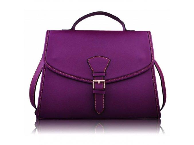 Crossbody kabelka Leila fialová LS0081