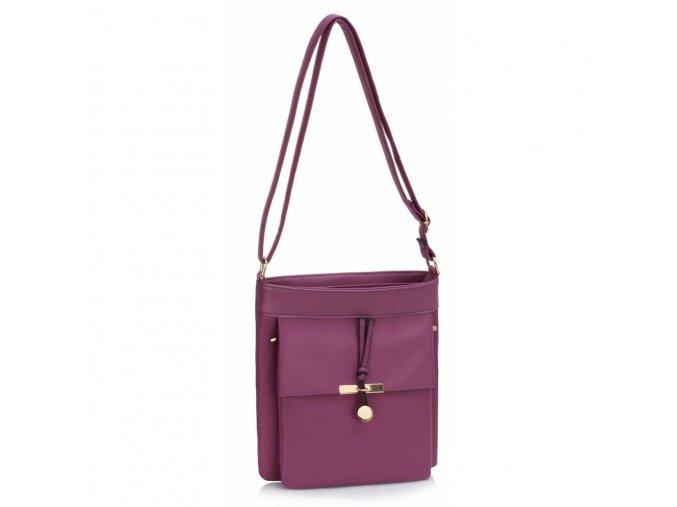Crossbody kabelka Polly fialová