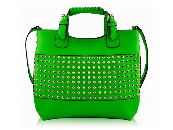 Shopper kabelka do ruky Delia E zelená LS00106A
