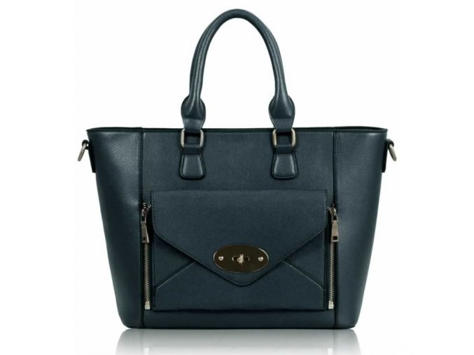 Shopper kabelka do ruky Laureen námornícka LS0021