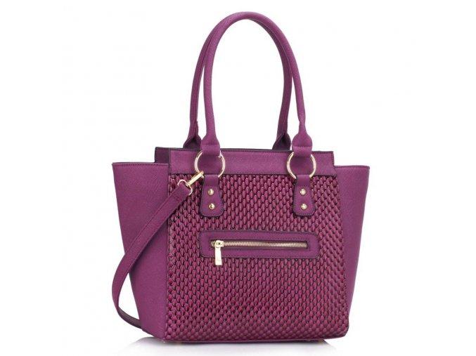 Shopper kabelka do ruky Milly fialová
