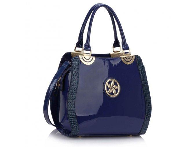 Trendová kabelka do ruky Lena modrá LS00380