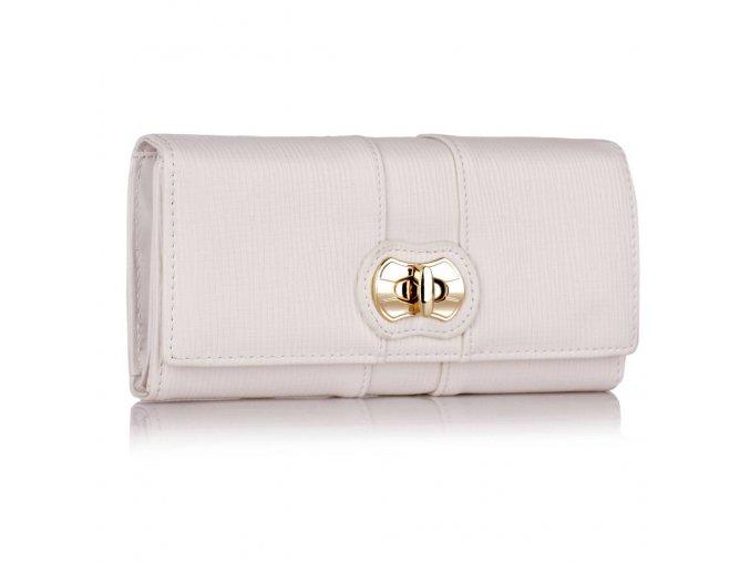 Peňaženka Lorna biela LSP1055