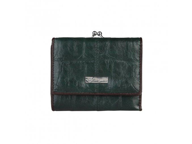 Peňaženka Segue Donna tmavo zelená