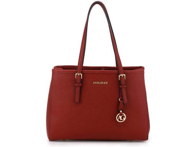 Bordová kabelka na rameno Mia AG00571