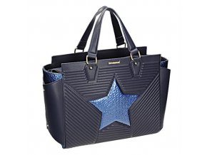 5ed1f916c13e Tmavo modrá kabelka na rameno Monnari BAG 0960-013 W18