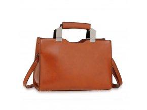 Trendy kabelka do ruky Jaelyn hnedá AG00690