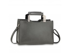 Trendy kabelka do ruky Jaelyn sivá AG00690