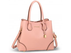 Ružová kabelka na rameno Maddison AG00648