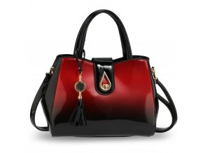 Trendy kabelka do ruky Lilliana červená AG00650