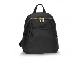 Čierny ruksak Evelyn AG00614