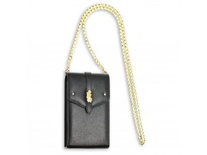 Crossbody čierna kabelka Kimberly AG00636