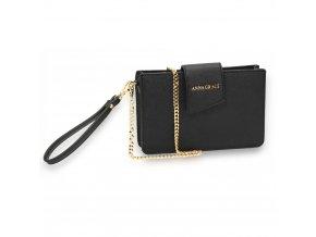 Crossbody kabelka čierna Kaley AG00593