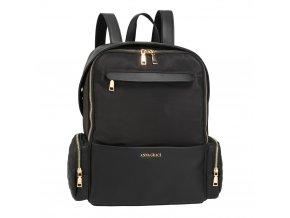 Čierny ruksak Isabell AG00572