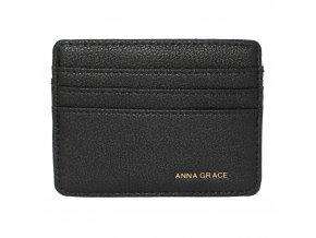 Čierna peňaženka pre ženy Grace card AGP1120