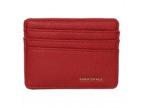 Bordová peňaženka pre ženy Grace card AGP1120
