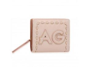 Ružová peňaženka pre ženy Levander AGP1105