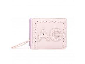 Fialová peňaženka pre ženy Levander AGP1105