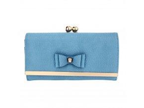 Modrá peňaženka pre ženy Alice AGP1077