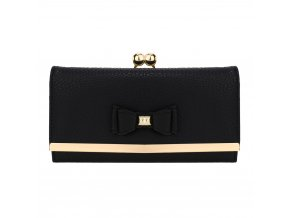 Čierna peňaženka pre ženy Alice AGP1077