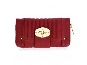 Červená peňaženka pre ženy Hillary AGP1093