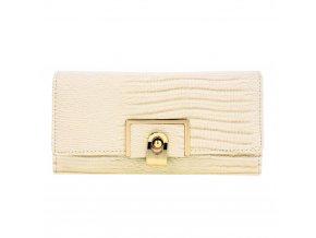 Béžová peňaženka pre ženy Tiara AGP1092