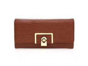 Hnedá peňaženka pre ženy Tiara AGP1092