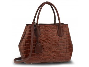 Hnedá kabelka do ruky Mariam AG00644