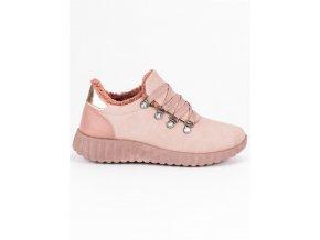 Ružové tenisky semišové Kylie