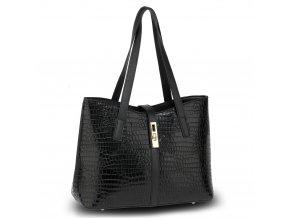 Čierna kabelka do ruky Siena AG00710