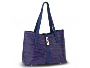 Námornická modrá kabelka do ruky Siena AG00710