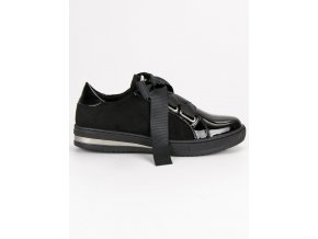 Elegantné tenisky čierne DBT462/18B