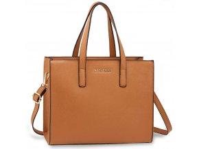 Trendy kabelka do ruky Toy hnedá AG00592