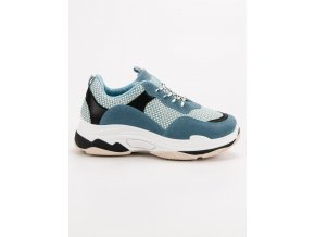 Modré tenisky sneakery na platforme Kylie