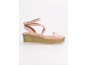 Ružové sandále Ch. Creation
