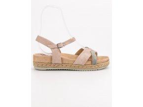 Ružové dámske sandále - Kylie K1902607NU