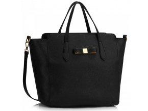 Čierna trendy kabelka na rameno Milly