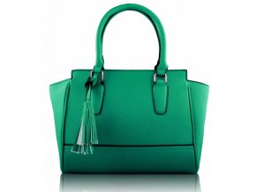 Kabelka do ruky Mabbie smaragdová LS00169