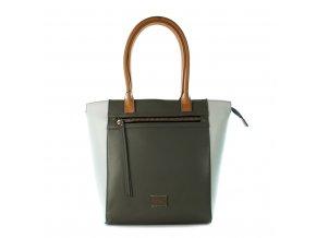 Shopper kabelka  Monnari Bielo sivá 2370 2710-3