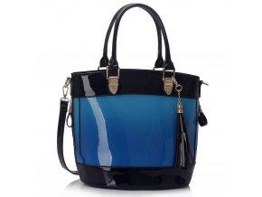 Shopper kabelka do ruky Ally modrá LS00321A